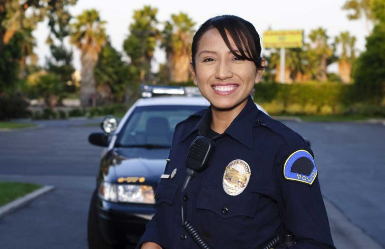 Police Officer Smiling